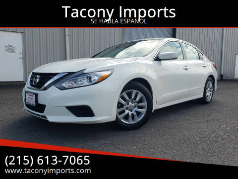 2017 Nissan Altima for sale at Tacony Imports in Philadelphia PA