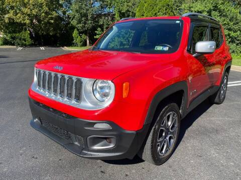 2018 Jeep Renegade for sale at Professionals Auto Sales in Philadelphia PA