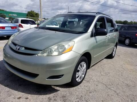 2006 Toyota Sienna for sale at Fantasy Motors Inc. in Orlando FL