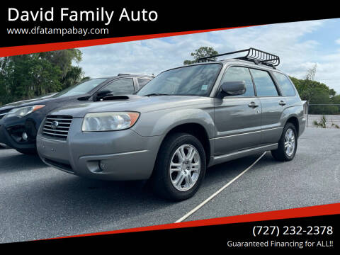 2006 Subaru Forester for sale at David Family Auto in New Port Richey FL
