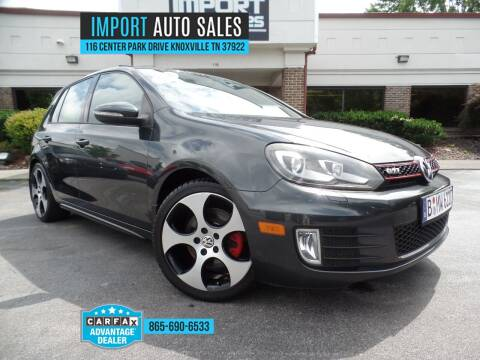 2011 Volkswagen GTI for sale at IMPORT AUTO SALES in Knoxville TN