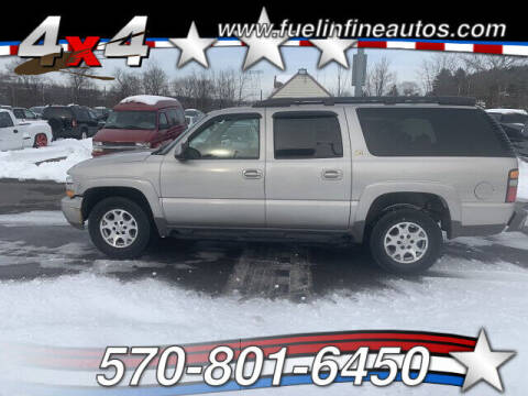2004 Chevrolet Suburban for sale at FUELIN FINE AUTO SALES INC in Saylorsburg PA