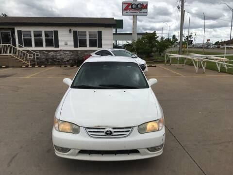 2002 Toyota Corolla for sale at Zoom Auto Sales in Oklahoma City OK