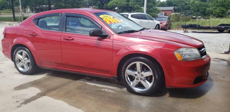 2013 Dodge Avenger for sale at COOPER AUTO SALES in Oneida TN
