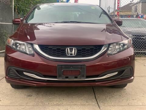 2015 Honda Civic for sale at Simon Auto Group in Newark NJ