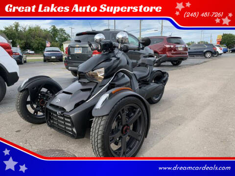2020 Can-Am 900 RYKER for sale at Great Lakes Auto Superstore in Pontiac MI