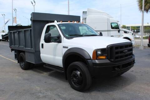 2005 Ford F-450 Super Duty for sale at Truck and Van Outlet in Miami FL