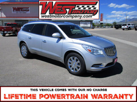 2017 Buick Enclave for sale at West Motor Company in Hyde Park UT