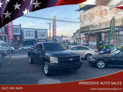 2011 Chevrolet Silverado 1500 for sale at Impressive Auto Sales in Philadelphia PA