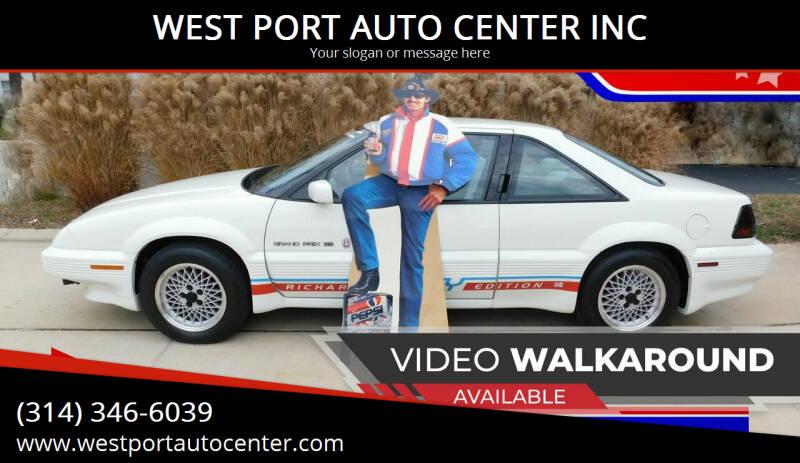 1991 Pontiac Grand Prix for sale at WEST PORT AUTO CENTER INC in Fenton MO