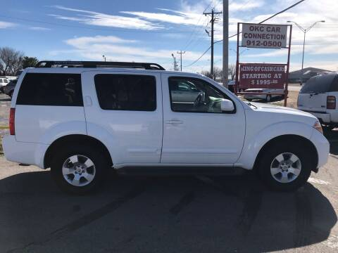 2006 Nissan Pathfinder for sale at OKC CAR CONNECTION in Oklahoma City OK
