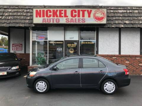 2010 Toyota Yaris for sale at NICKEL CITY AUTO SALES in Lockport NY