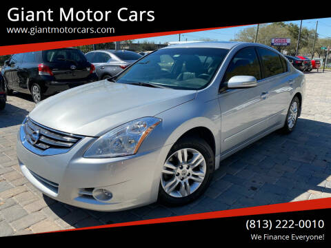 2012 Nissan Altima for sale at Giant Motor Cars in Tampa FL