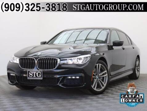 2017 BMW 7 Series for sale at STG Auto Group in Montclair CA