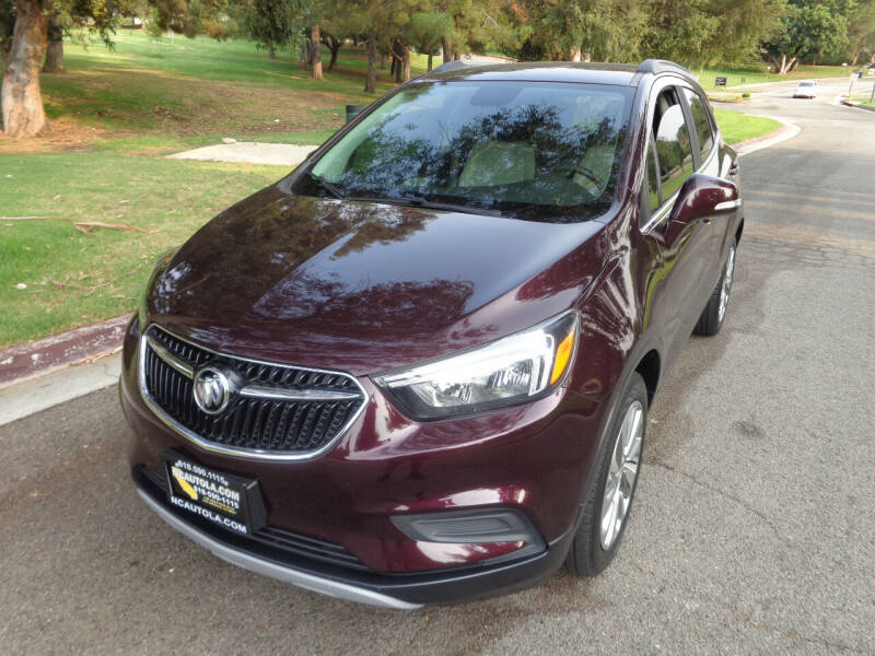 2018 Buick Encore for sale at N c Auto Sales in Los Angeles CA