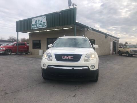2007 GMC Acadia for sale at B & J Auto Sales in Auburn KY