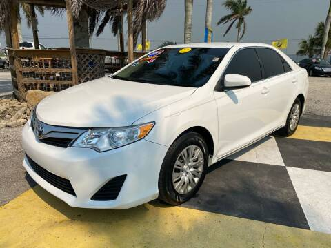 2013 Toyota Camry for sale at D&S Auto Sales, Inc in Melbourne FL
