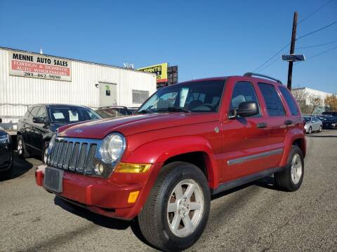2006 Jeep Liberty for sale at MENNE AUTO SALES in Hasbrouck Heights NJ