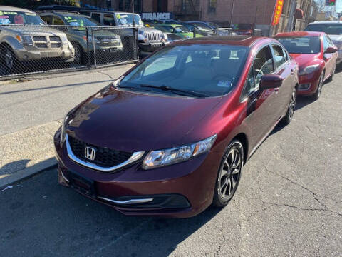 2014 Honda Civic for sale at ARXONDAS MOTORS in Yonkers NY