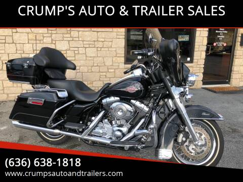 2008 Harley Davidson Ultra classic for sale at CRUMP'S AUTO & TRAILER SALES in Crystal City MO