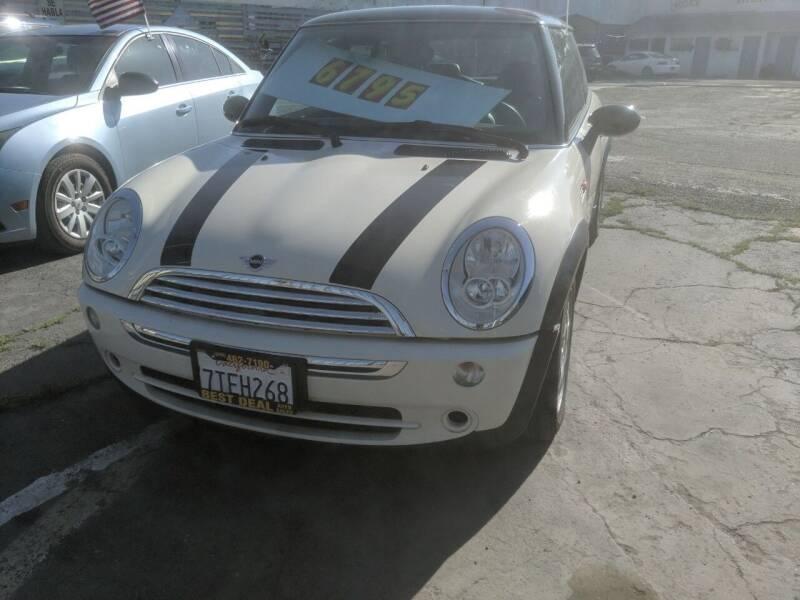 2006 MINI Cooper for sale at Best Deal Auto Sales in Stockton CA