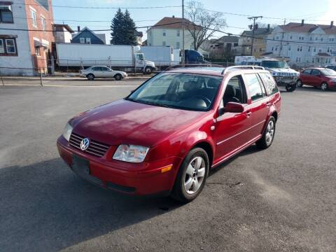 2004 Volkswagen Jetta for sale at A J Auto Sales in Fall River MA