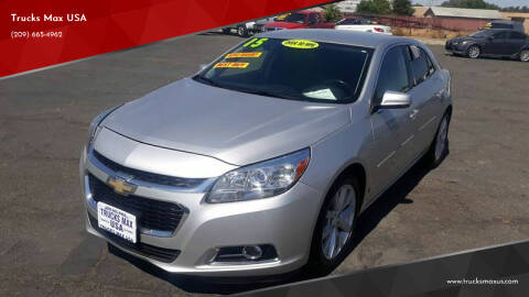 2015 Chevrolet Malibu for sale at Trucks Max USA in Manteca CA