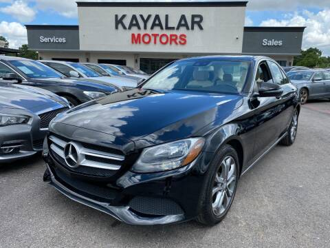 2017 Mercedes-Benz C-Class for sale at KAYALAR MOTORS in Houston TX