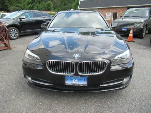 2012 BMW 5 Series for sale at Balic Autos Inc in Lanham MD