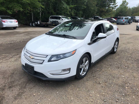 2012 Chevrolet Volt for sale at Winner's Circle Auto Sales in Tilton NH