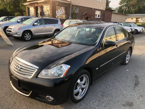 2008 Infiniti M35 for sale at MAGIC AUTO SALES in Little Ferry NJ
