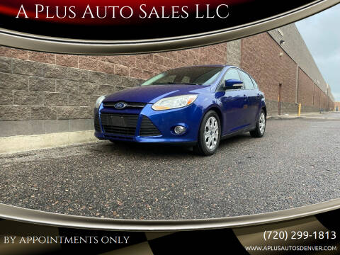 2012 Ford Focus for sale at A Plus Auto Sales LLC in Denver CO