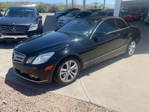 2011 Mercedes-Benz E-Class for sale at Carzz Motor Sports in Fountain Hills AZ