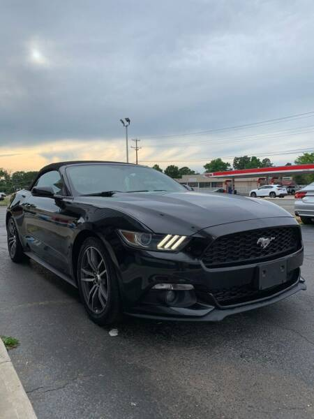 2015 Ford Mustang for sale at City to City Auto Sales in Richmond VA