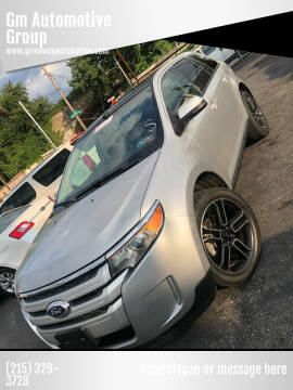 2013 Ford Edge for sale at GM Automotive Group in Philadelphia PA
