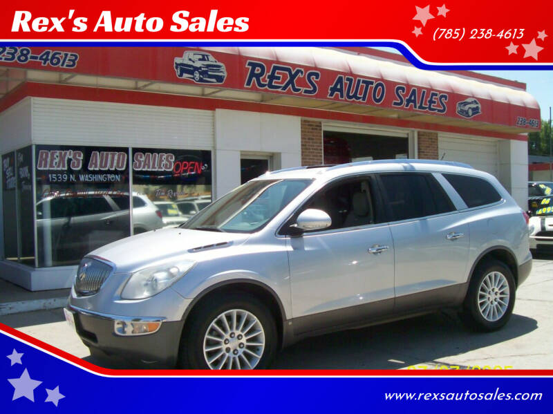 2010 Buick Enclave for sale at Rex's Auto Sales in Junction City KS