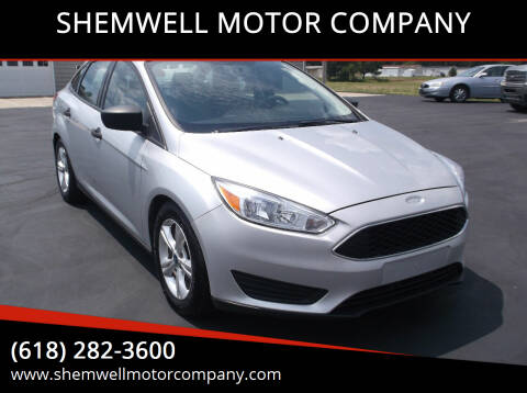 2016 Ford Focus for sale at SHEMWELL MOTOR COMPANY in Red Bud IL