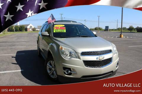 2013 Chevrolet Equinox for sale at AUTO VILLAGE LLC in Lebanon TN
