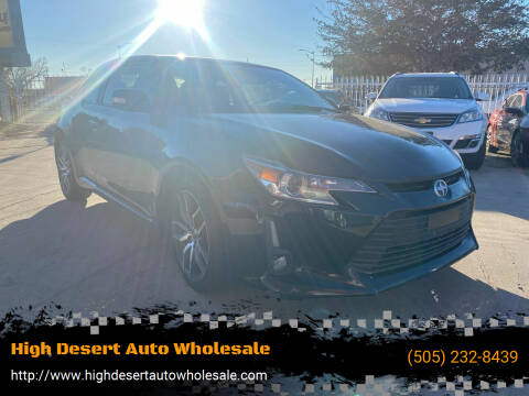 2014 Scion tC for sale at High Desert Auto Wholesale in Albuquerque NM