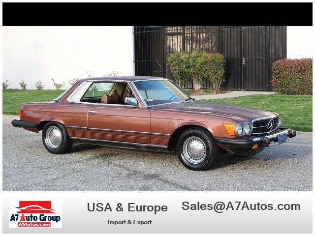1978 Mercedes-Benz 450-Class for sale at A7 AUTO SALES in Holly Hill FL