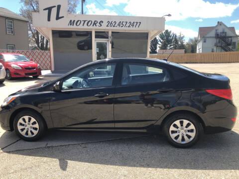 2017 Hyundai Accent for sale at TL Motors LLC in Hartford WI