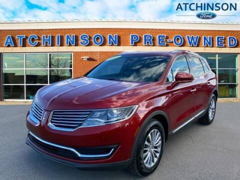 2017 Lincoln MKX for sale at Atchinson Ford Sales Inc in Belleville MI