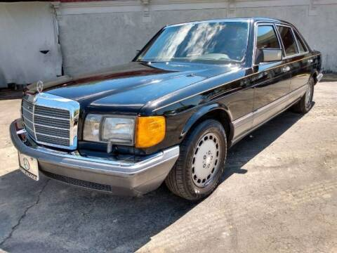 1990 Mercedes-Benz 560-Class for sale at Classic Car Deals in Cadillac MI