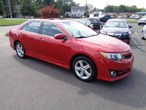 2013 Toyota Camry for sale at BETTER BUYS AUTO INC in East Windsor CT