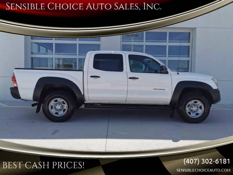 2012 Toyota Tacoma for sale at Sensible Choice Auto Sales, Inc. in Longwood FL