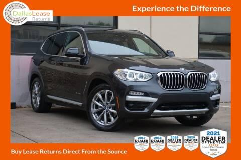 2018 BMW X3 for sale at Dallas Auto Finance in Dallas TX