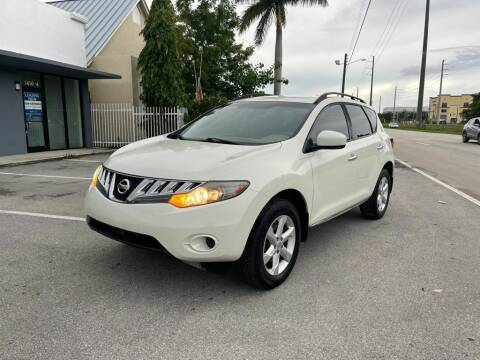 2009 Nissan Murano for sale at UNITED AUTO BROKERS in Hollywood FL
