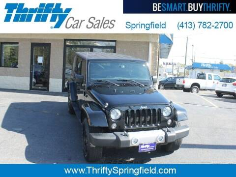 2015 Jeep Wrangler Unlimited for sale at Thrifty Car Sales Springfield in Springfield MA