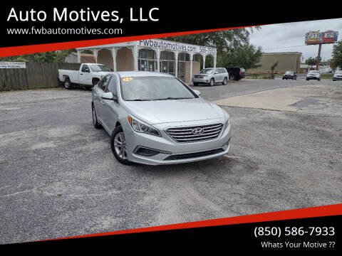 2016 Hyundai Sonata for sale at Auto Motives, LLC in Fort Walton Beach FL