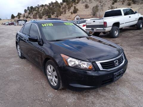 2008 Honda Accord for sale at Canyon View Auto Sales in Cedar City UT